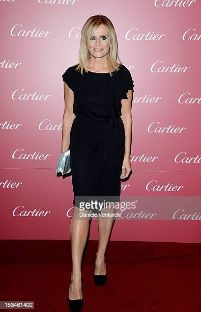Isabella Ferrari attends Cartier Boutique reopening cocktail party on October 5 2012 in Milan Italy