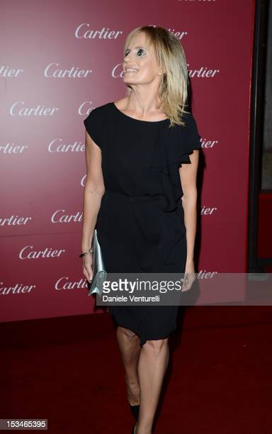Isabella Ferrari attends the Cartier Boutique reopening cocktail party on October 5 2012 in Milan Italy