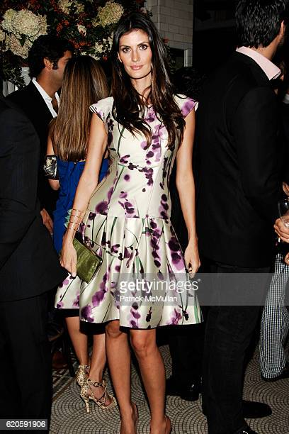 Isabella Fiorentino attends Private Dinner hosted by CARLOS JEREISSATI CEO of IGUATEMI at Pastis on September 6 2008 in New York City