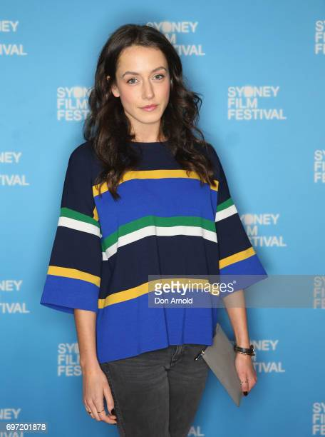 Isabella Giovinazzo arrives ahead of the Sydney Film Festival Closing Night Gala and Australian premiere of Okja at State Theatre on June 18 2017 in...