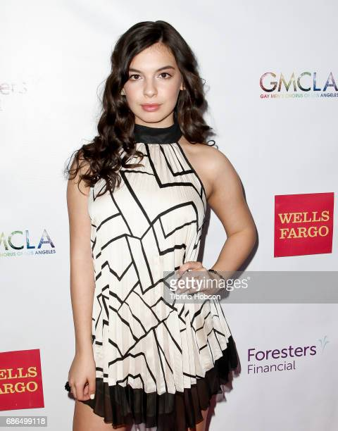 Isabella Gomez attends the Gay Men's Chorus of Los Angeles 6th annual Voice Awards at JW Marriott Los Angeles at LA LIVE on May 20 2017 in Los...