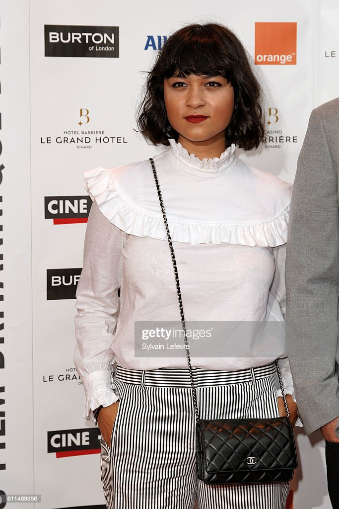 Isabella Laughland attends the opening ceremony of the 27th Dinard British Film Festival on September 29, 2016 in Dinard, France.