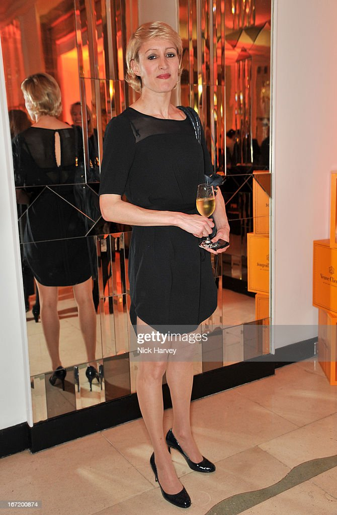Isabella Macpherson attends the Veuve Clicquot Business Woman of the Year award at Claridges Hotel on April 22, 2013 in London, England.