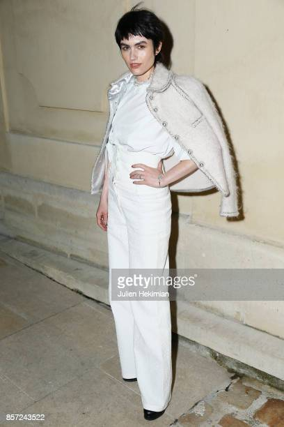 Isabella Manfredi attends the Chanel 'Code Coco' Watch Launch Party as part of the Paris Fashion Week Womenswear Spring/Summer 2018 on October 3 2017...