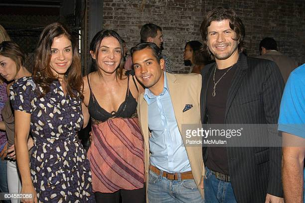 Isabella Prata Rachel Silveira Daniel Urzedo and Paolo Ricardo attend CABANA CACHAÇA Party to Celebrate it's Arrival on US Shores at 10 Little West...