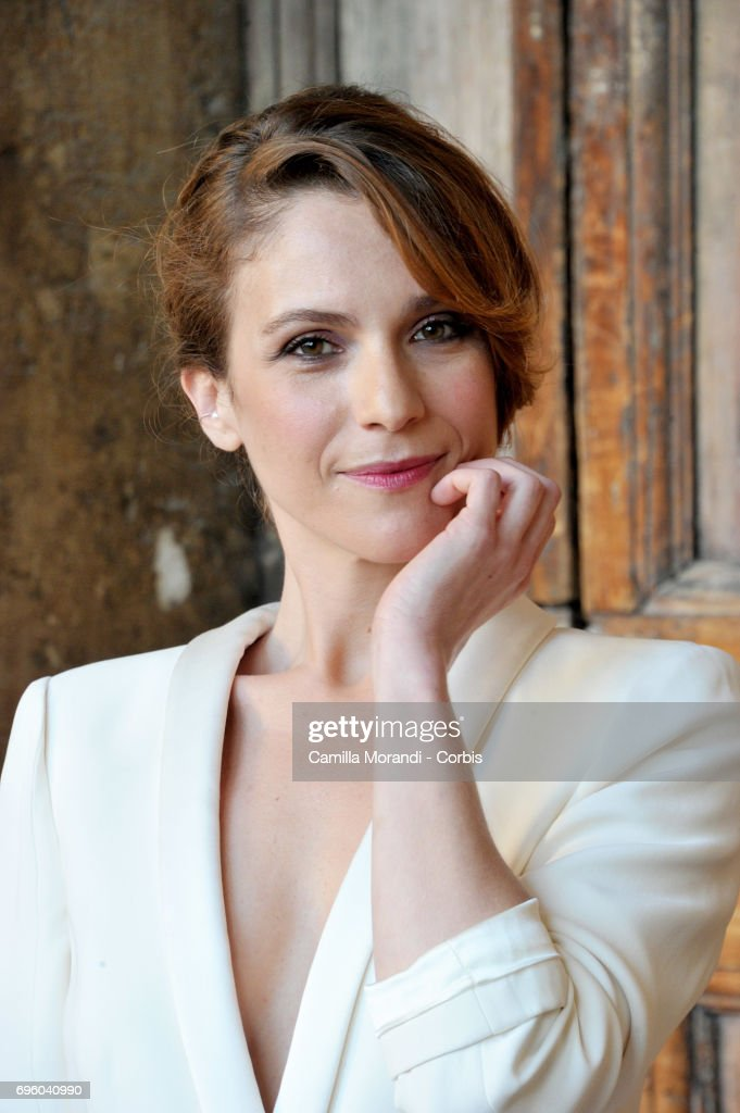 Isabella Ragonese attends 2017 Globi D'Oro Awards on June 14, 2017 in Rome, Italy.
