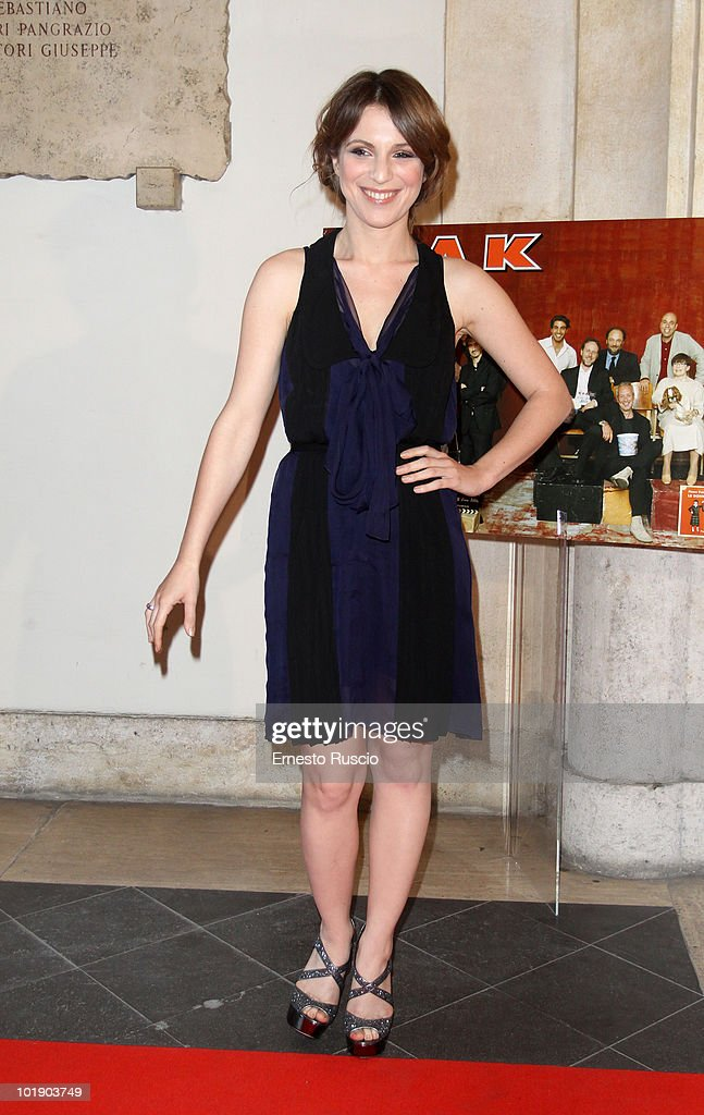 Isabella Ragonese attends the 'Ciak D'Oro' awards ceremony on June 8, 2010 in Rome, Italy.