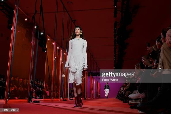 Isabella Ridolfi walks the runway at 31 Phillip Lim show during New York Fashion Week at Spring Studios on February 13 2017 in New York City