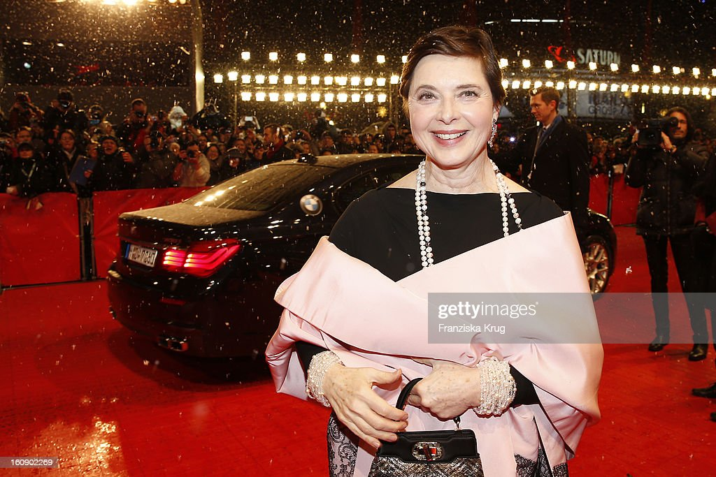 Isabella Rossellini arrives at the 'The Grandmaster' Premiere - BMW at the 63rd Berlinale International Film Festival at the Berlinale Palast on February 7, 2013 in Berlin, Germany.