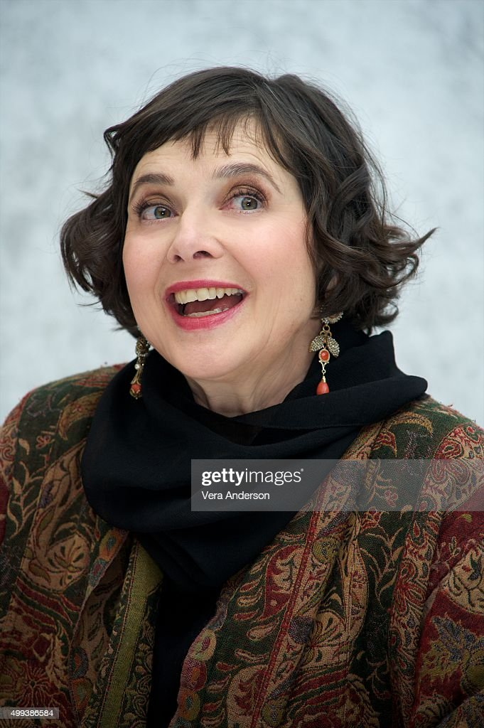 Isabella Rossellini at the 'Joy' Press Conference at the InterContinental Hotel on November 29, 2015 in Century City, California.