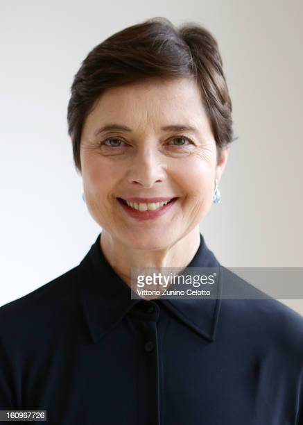 Isabella Rossellini attends a portrait session 63rd Berlinale International Film Festival on February 8 2013 in Berlin Germany