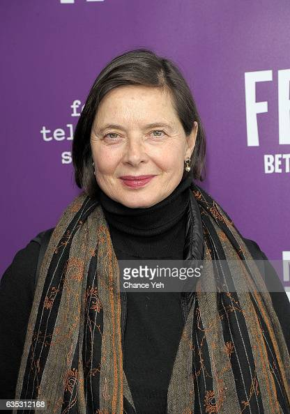 Isabella Rossellini attends 'Feud' Tastemaker lunch at The Rainbow Room on February 14 2017 in New York City