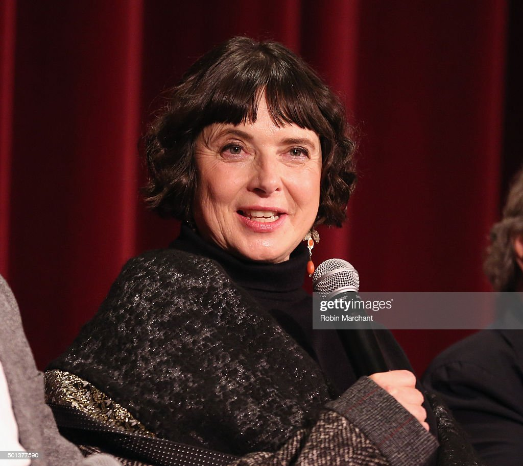 <a gi-track='captionPersonalityLinkClicked' href=/galleries/search?phrase=Isabella+Rossellini&family=editorial&specificpeople=209153 ng-click='$event.stopPropagation()'>Isabella Rossellini</a> attends The Academy Of Motion Picture Arts And Sciences Hosts An Official Academy Screening Of JOY on December 14, 2015 in New York City.
