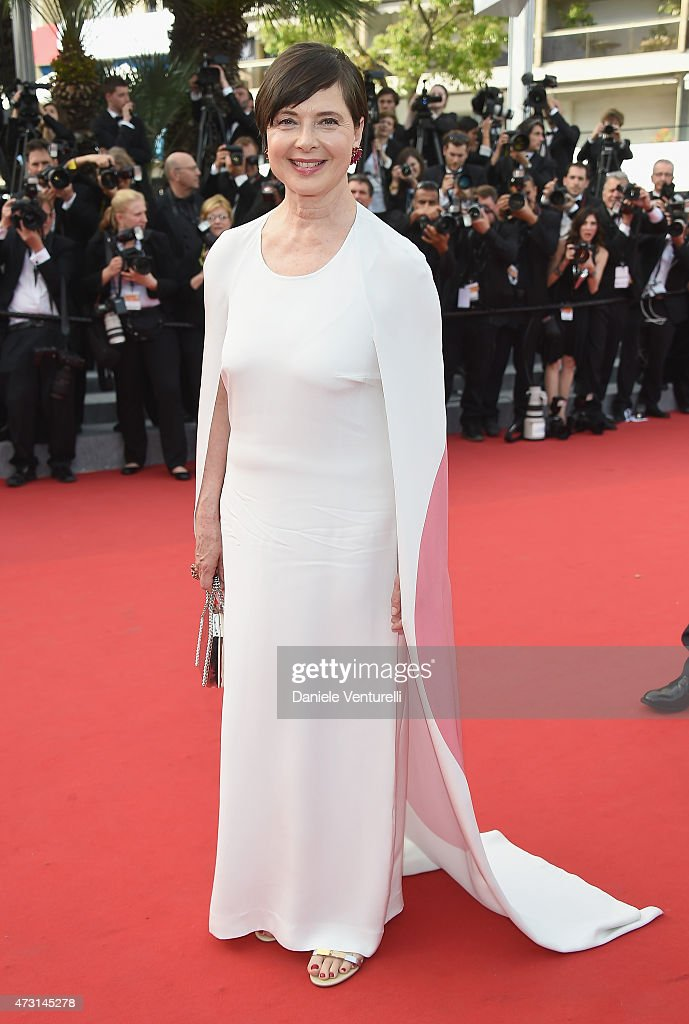 <a gi-track='captionPersonalityLinkClicked' href=/galleries/search?phrase=Isabella+Rossellini&family=editorial&specificpeople=209153 ng-click='$event.stopPropagation()'>Isabella Rossellini</a> attends the opening ceremony and premiere of 'La Tete Haute ('Standing Tall') during the 68th annual Cannes Film Festival on May 13, 2015 in Cannes, France.
