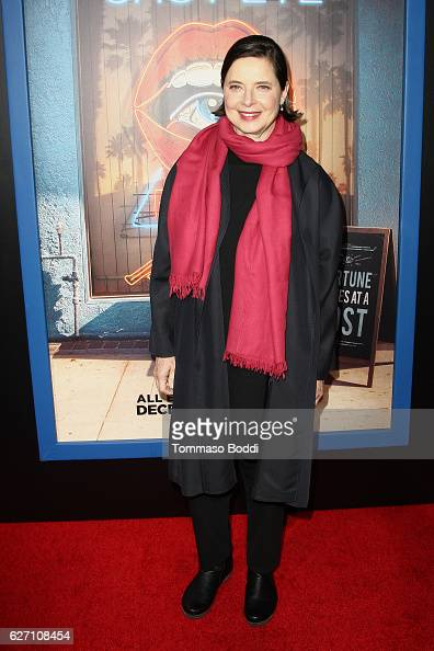 Isabella Rossellini attends the premiere of Hulu's 'Shut Eye' at ArcLight Hollywood on December 1 2016 in Hollywood California