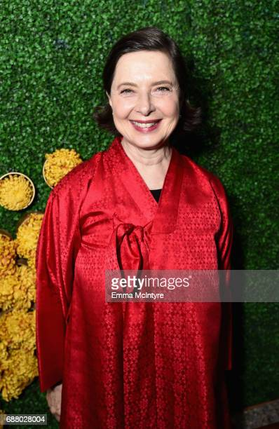 Isabella Rossellini attends the Sony Pictures Television LA Screenings Party on May 24 2017 in Los Angeles California