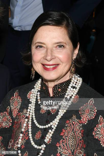 Isabella Rossellini attends the WITNESS 25th Anniversary Gala at The Edison Ballroom on May 11 2017 in New York City