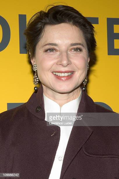 Isabella Rossellini during Fendi Flagship Store Opening and Announcement of The Fendi Rome Prize Fellowship at The American Academy in Rome at Fendi...