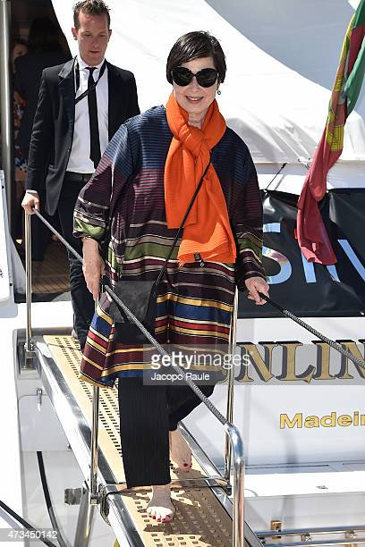Isabella Rossellini is seen on day 3 of the 68th annual Cannes Film Festival on May 15 2015 in Cannes France