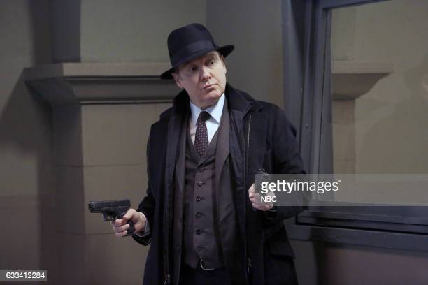 THE BLACKLIST 'Isabella Stone #34' Episode 413 Pictured James Spader as Raymond 'Red' Reddington
