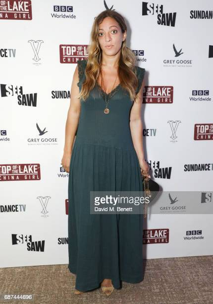Isabella Summers attends Top of the Lake China Girl screening afterparty at Versini Cannes in partnership with Grey Goose at Versini Five Seas Hotel...