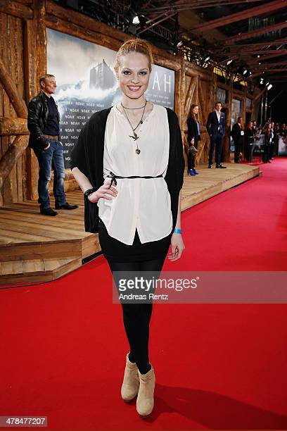 Isabella Vinet attends the premiere of Paramount Pictures' 'NOAH' at Zoo Palast on March 13 2014 in Berlin Germany