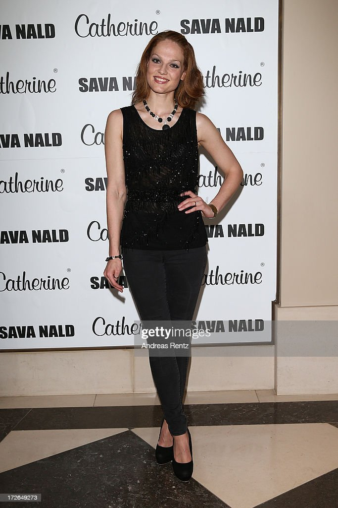 Isabella Vinet attends the Sava Nald Show during the Mercedes-Benz Fashion Week Spring/Summer 2014 at Hotel Adlon on July 4, 2013 in Berlin, Germany.