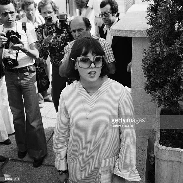Isabelle Adjani at Cannes Film Festival in 1976 in Cannes France