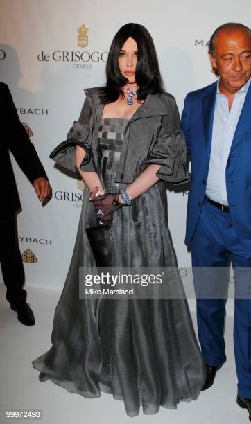 Isabelle Adjani attends the de Grisogono party at the Hotel Du Cap on May 18 2010 in Cap D'Antibes France on May 18 2010 in Cannes France