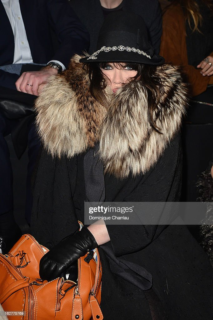 <a gi-track='captionPersonalityLinkClicked' href=/galleries/search?phrase=Isabelle+Adjani&family=editorial&specificpeople=652070 ng-click='$event.stopPropagation()'>Isabelle Adjani</a> attends the Etam Live Show Lingerie at Bourse du Commerce on February 26, 2013 in Paris, France.