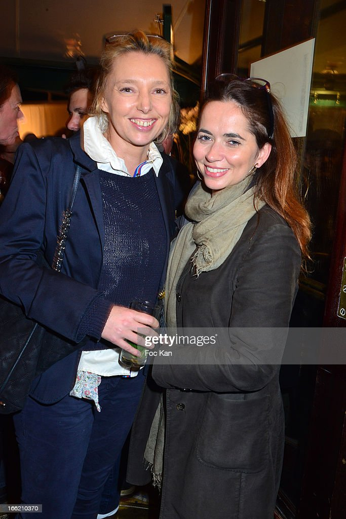 Isabelle Alexis and Sandrine Martin attend La Closerie Ses Lilas Literary Awards 2013 - 6th Edition At La Closerie Des Lilas on April 9, 2013 in Paris, France.