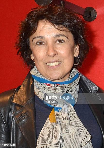 Isabelle Alonso attends the Nathalie Garcon's 'Carnet de Voyages en Tunisie' at Nathalie Garcon Shop on September 24 2015 in Paris France
