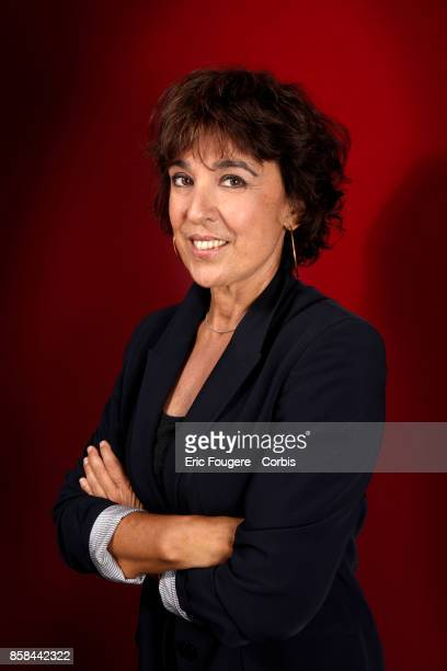 Isabelle Alonso poses during a portrait session in Paris France on