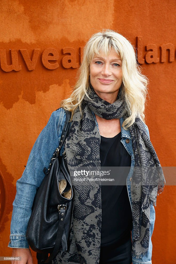 Isabelle Camus attends the French Tennis Open Day Nine at Roland Garros on May 30, 2016 in Paris, France.