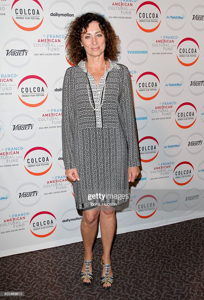 Isabelle Candelier attends opening night of the 20th annual COLCOA French Film Festival at Directors Guild of America on April 18, 2016 in Los Angeles, California.