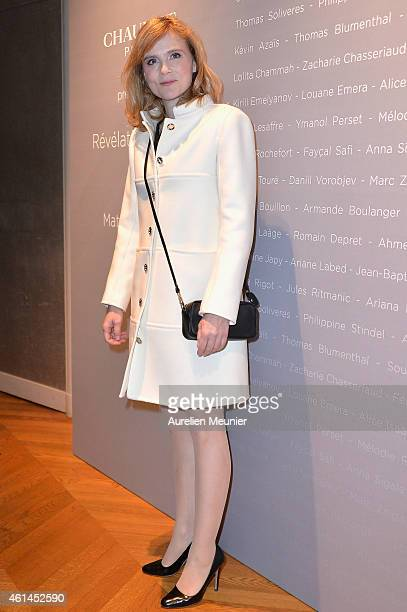 Isabelle Carre attends the 'Cesar Revelations 2015' Cocktail Party at Salons Chaumet on January 12 2015 in Paris France