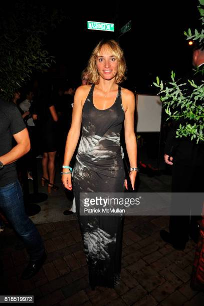 Isabelle Dupree attends The Target Kaleidoscopic Fashion Spectacular Lights up New York City at The Standard on August 18 2010 in New York City
