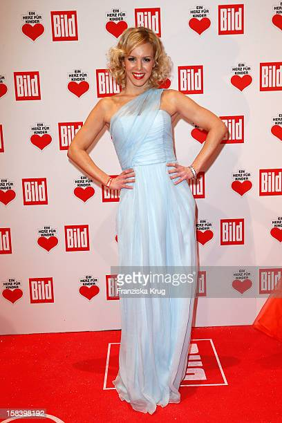 Isabelle Edvardsson attends the 'Ein Herz Fuer Kinder Gala 2012' on December 15 2012 in Berlin Germany