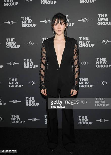 Isabelle Fuhrman attends the 2017 New Group gala at Tribeca Rooftop on March 6 2017 in New York City