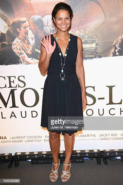 Isabelle Giordano attends 'Ces Amours La' Paris premiere at Cinema UGC Normandie on September 12 2010 in Paris France