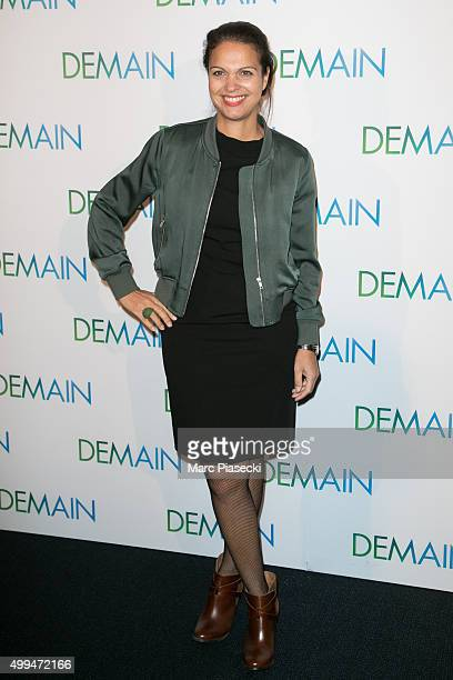 Isabelle Giordano attends the' Demain' Premiere at Cinema UGC Normandie on December 1 2015 in Paris France