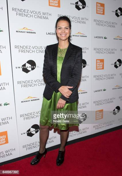 Isabelle Giordano attends the opening night premiere of 'Django' at The Film Society of Lincoln Center Walter Reade Theatre on March 1 2017 in New...