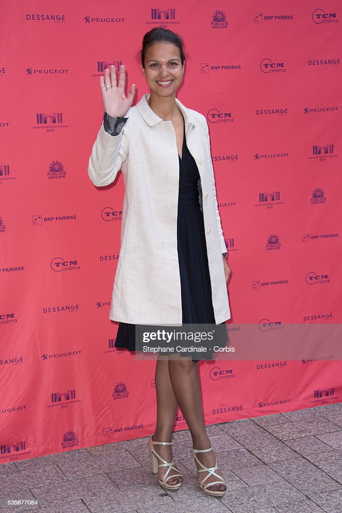 Isabelle Giordano attends the 'Toiles Enchantees' Red Carpet as part of the Champs Elysees Film Festival 2013 at Publicis Champs Elysees in Paris