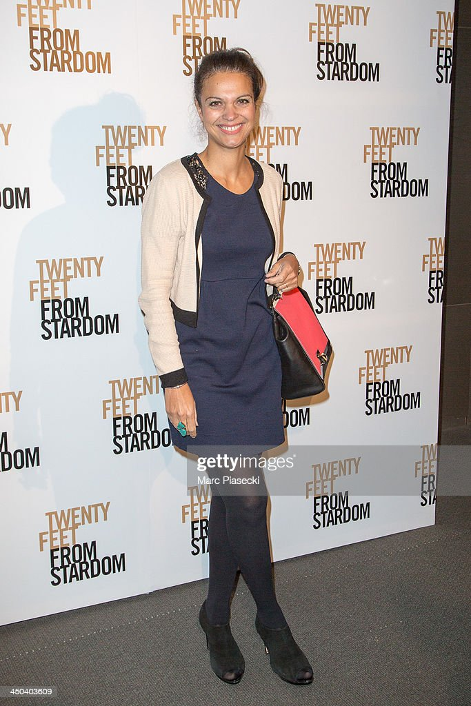 <a gi-track='captionPersonalityLinkClicked' href=/galleries/search?phrase=Isabelle+Giordano&family=editorial&specificpeople=633746 ng-click='$event.stopPropagation()'>Isabelle Giordano</a> attends the 'Twenty feet from stardom' Paris premiere at Cinema UGC Normandie on November 18, 2013 in Paris, France.