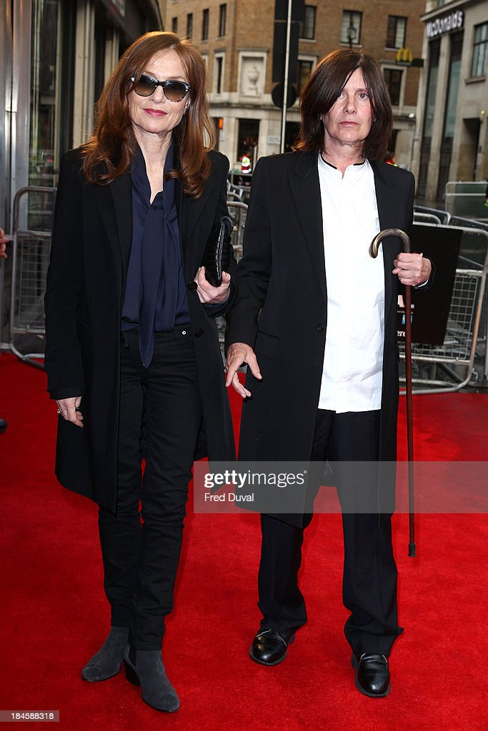 <a gi-track='captionPersonalityLinkClicked' href=/galleries/search?phrase=Isabelle+Huppert&family=editorial&specificpeople=662796 ng-click='$event.stopPropagation()'>Isabelle Huppert</a> and <a gi-track='captionPersonalityLinkClicked' href=/galleries/search?phrase=Catherine+Breillat&family=editorial&specificpeople=2560606 ng-click='$event.stopPropagation()'>Catherine Breillat</a> attend a screening of 'Abuse Of Weakness' during the 57th BFI London Film Festival at Odeon West End on October 14, 2013 in London, England.