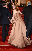 Isabelle Huppert at the premiere for 'Amour' during the 65th Cannes International Film Festival