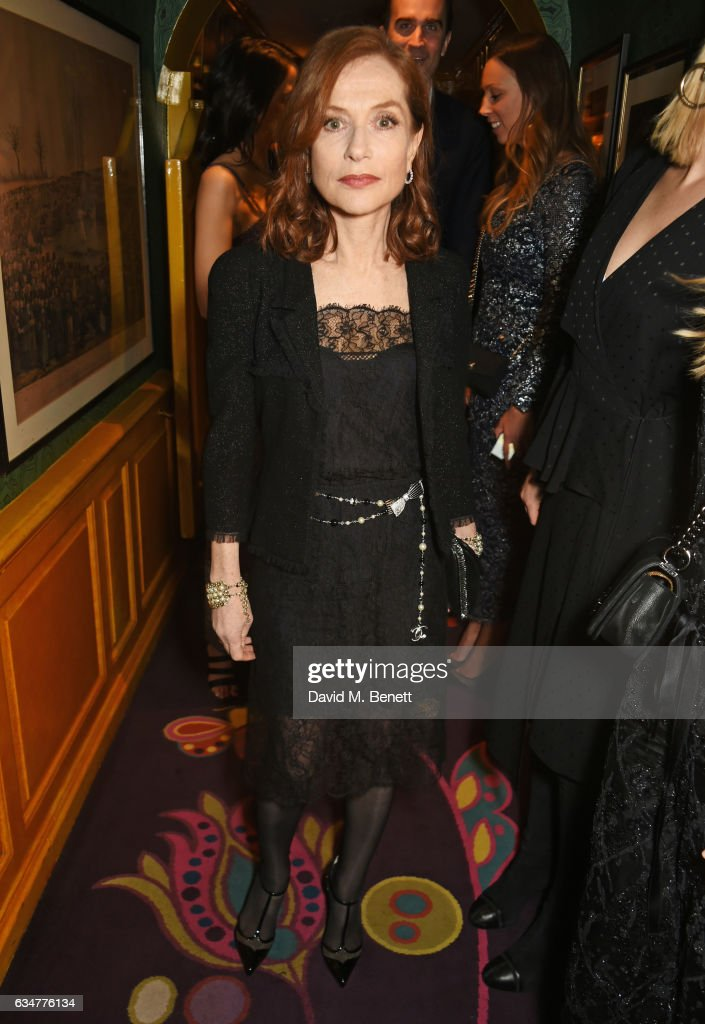 isabelle-huppert-attends-a-pre-bafta-party-hosted-by-charles-finch-picture-id634776134