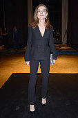 Isabelle Huppert attends Dior Dinner held at Mandarin Oriental Hotel as part of the 14th Marrakech International Film Festival on December 7 2014 in...