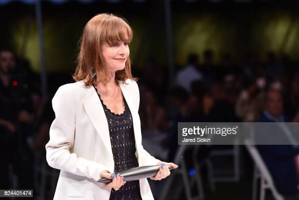 Isabelle Huppert attends The 24th Annual Watermill Center Summer Benefit Auction at The Watermill Center on July 29 2017 in Water Mill New York