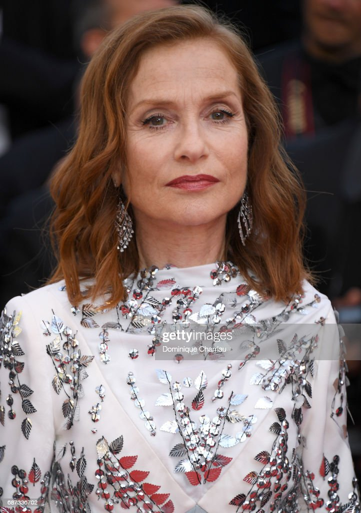 Isabelle Huppert attends the 70th Anniversary screening during the 70th annual Cannes Film Festival at Palais des Festivals on May 23, 2017 in Cannes, France.